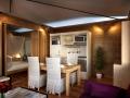Dining room mini-kitchen