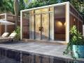 28 m² terrace