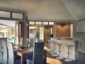 Perspective salle à manger cuisine